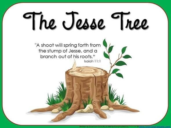 What is a Jesse Tree? Advent Symbolism  Meaning