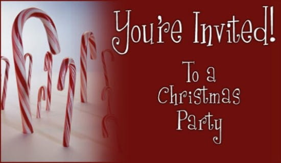 Free Christmas Party Invitation eCard - eMail Free Personalized - free christmas party templates invitations