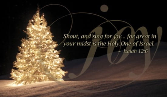 Happy Birthday 3d Name Wallpaper Isaiah 12 6 Joy Ecard Free Christmas Cards Online