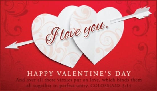 Colossians 314 NIV eCard - Free Valentine\u0027s Day Cards Online