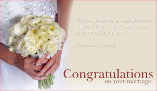 Free Marriage Congratulations eCard - eMail Free Personalized