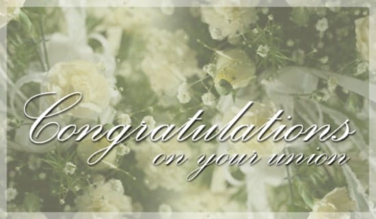 Free Congratulations eCard - eMail Free Personalized Wedding Cards