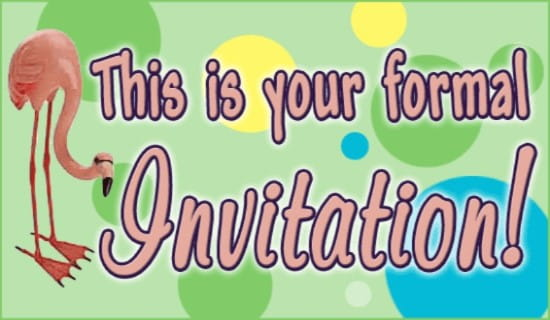 Free Formal Invitation eCard - eMail Free Personalized Invitations - formal invitation