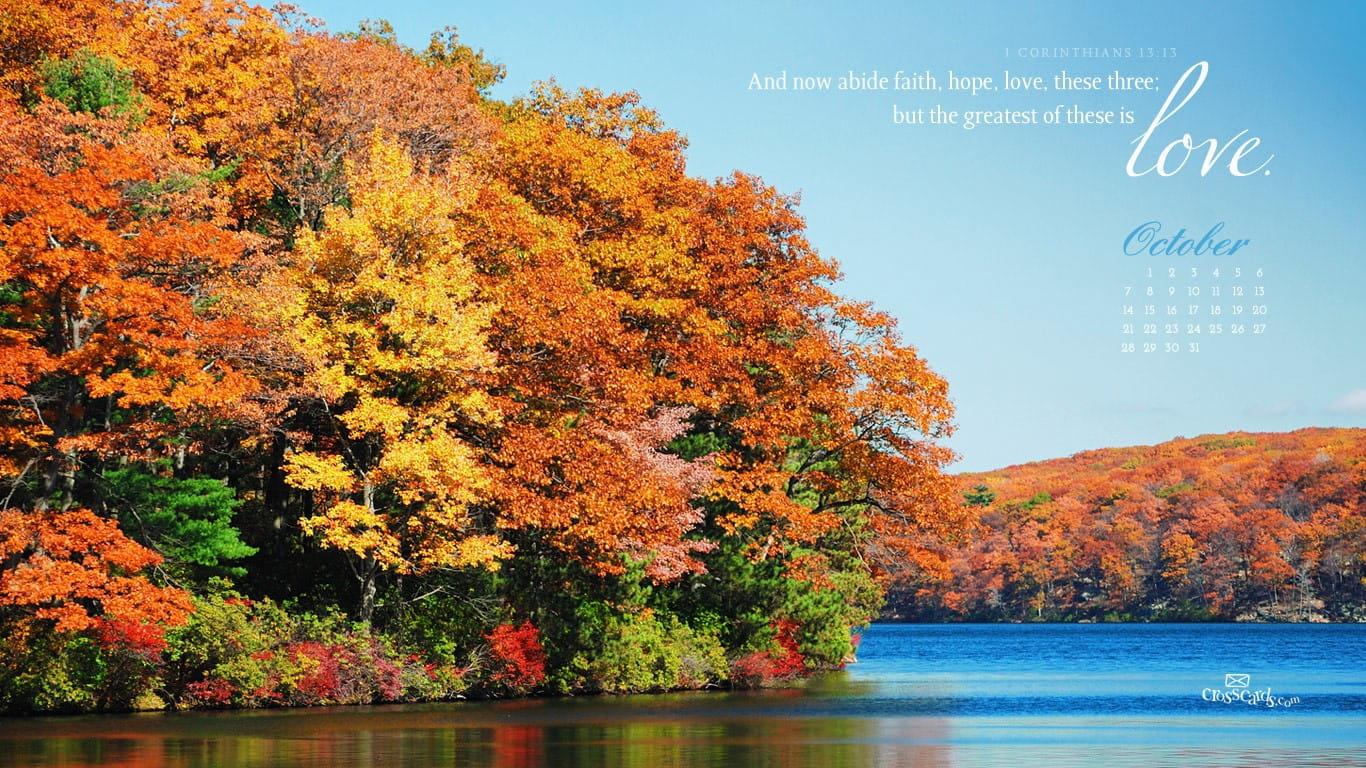 New England Fall Phone Wallpaper Oct 2012 Love Desktop Calendar Free October Wallpaper