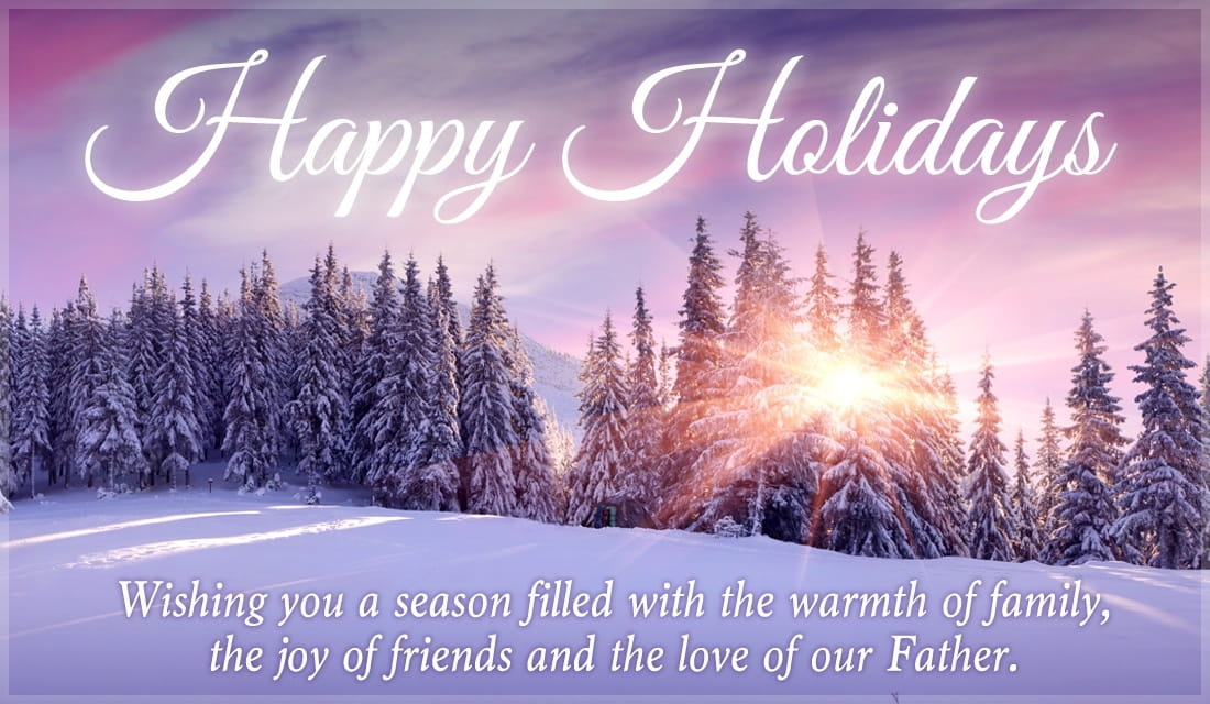 Happy Holidays eCard - Free Christmas Cards Online - free images happy holidays
