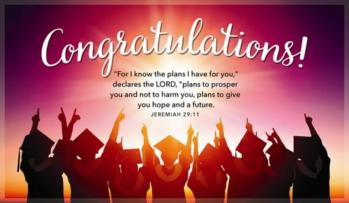 Free Graduation eCards - eMail Personalized Christian Cards Online - congratulations on graduating