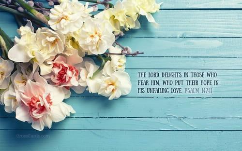Psalm 14711 Wallpaper - Free Flowers Desktop Backgrounds