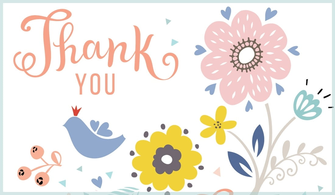 Free Thank You Ecards - Send Personalized \ - free thank you cards