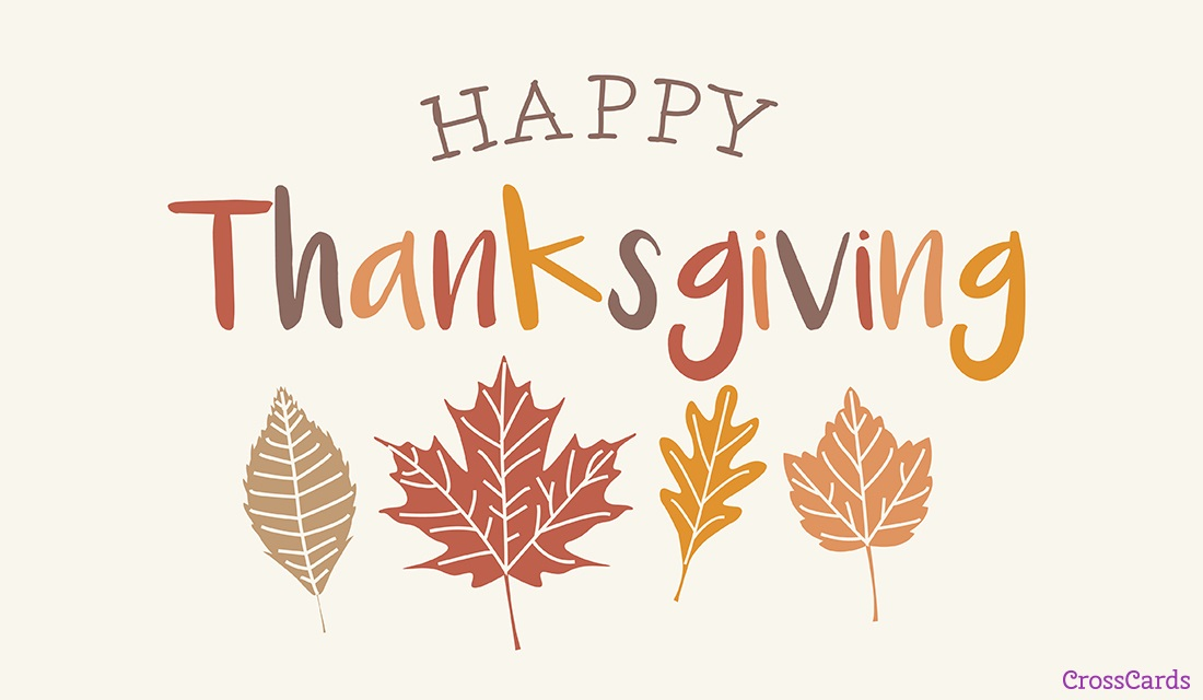 Happy Thanksgiving eCard - Free Thanksgiving Cards Online