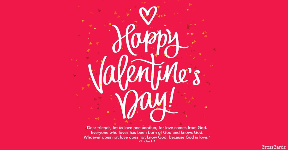 Valentine\u0027s Day - 1 John 47 eCard - Free Valentine\u0027s Day Cards Online
