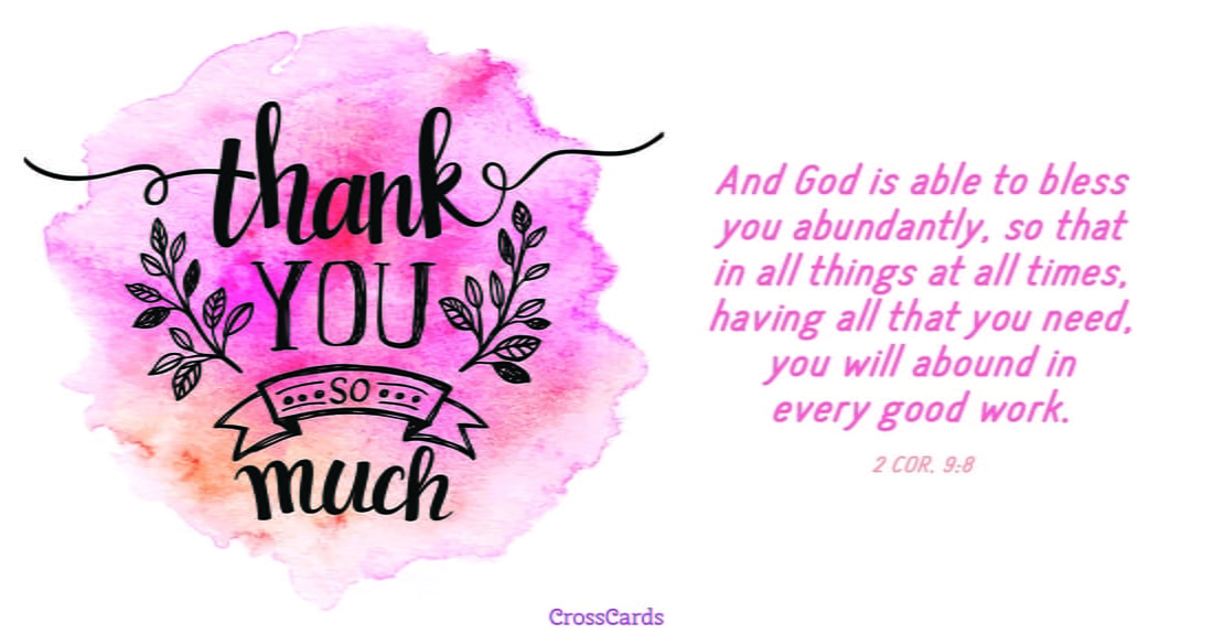 Free Thank You So Much eCard - eMail Free Personalized Thank You
