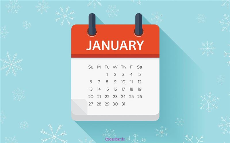 January 2019 - Calendar Desktop Calendar- Free January Wallpaper