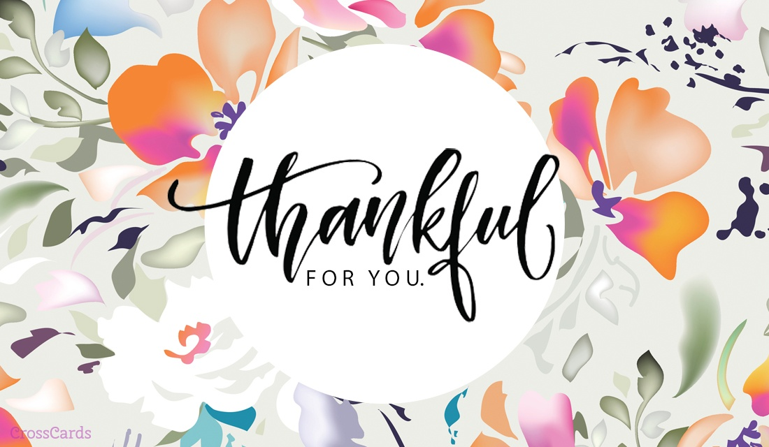 Free I\u0027m Thankful for You eCard - eMail Free Personalized Thank You