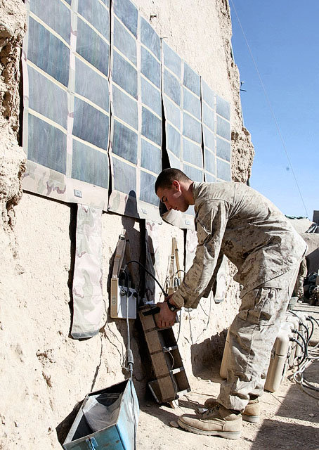 Marines are going green to save lives on battlefield syracuse