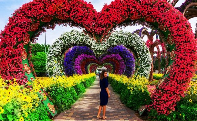 The Dubai Miracle Garden And Global Village Shopping Tour 2019