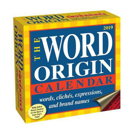 Word Origin 2019 Day-To-Day Calendar Buy Online in South Africa