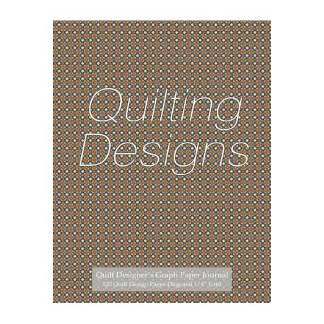Quilt Designer\u0027s Graph Paper Journal 120 Quilt Design Pages 1/4