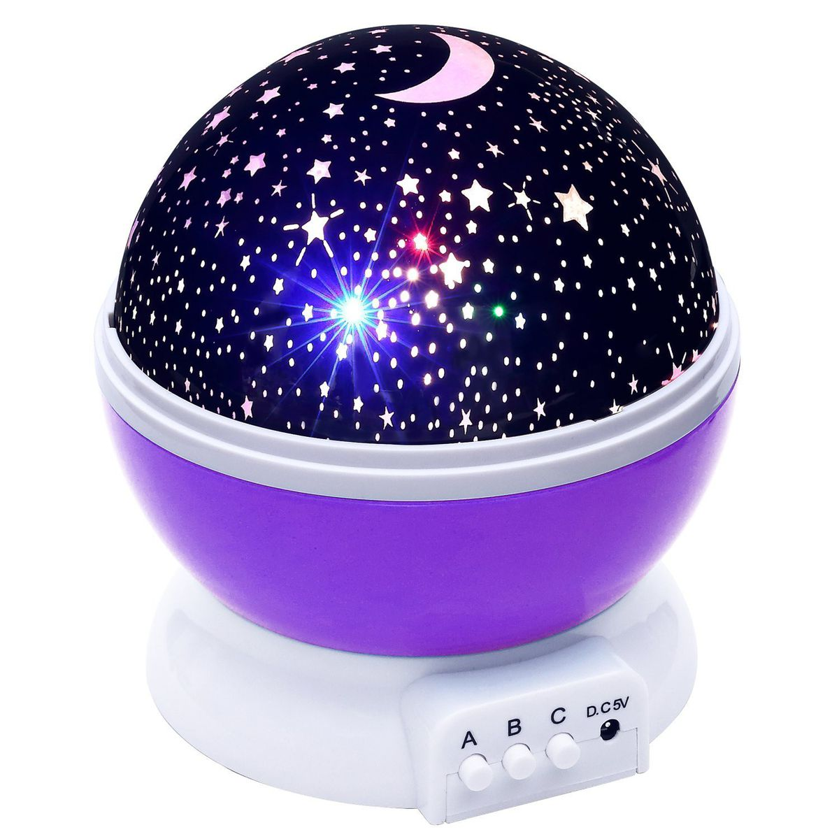 Best Kids Night Light Star Master Night Light Purple Buy Online In South