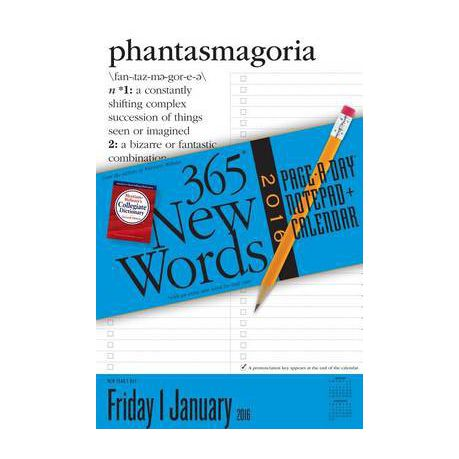 365 New Words Page-A-Day Notepad + Calendar Buy Online in South