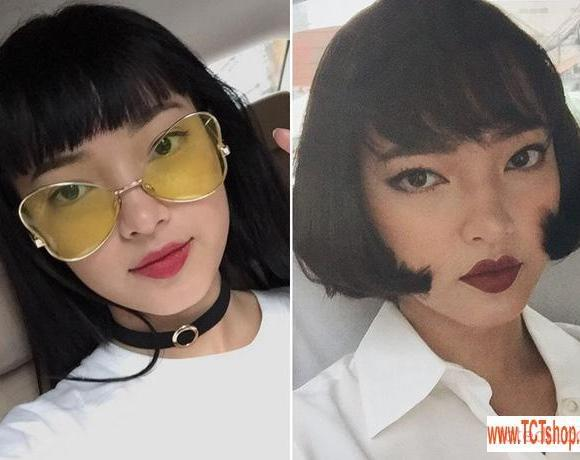7 pha doi toc dep mien che cua loat hot girl viet thoi gian nay16 7 pha đổi tóc đẹp miễn chê của loạt hot girl Việt thời gian này