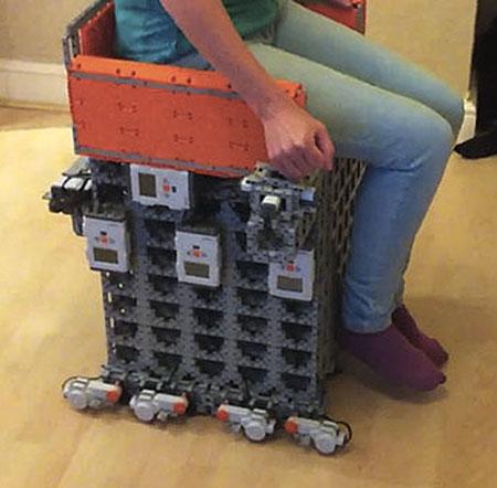 Geek Builds World\u0027s First Motorized LEGO Wheelchair - TechEBlog