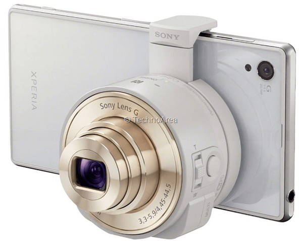 Sony_Attachable_Lens_Gold