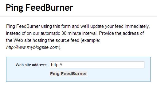 Ping_Feedburner