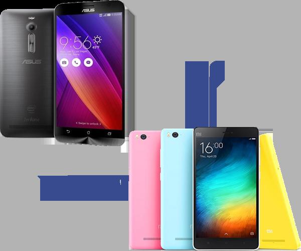 Asus Zenfone 2 VS Xiaomi Mi 4i