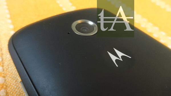 Motorola Moto E 2015 Rear Camera