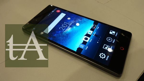ZTE Nubia Z9 Mini Display