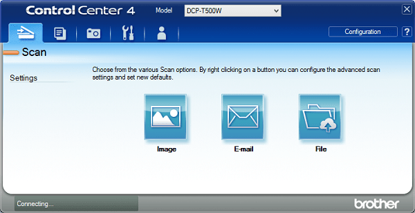 Brother Printer Control Center 4