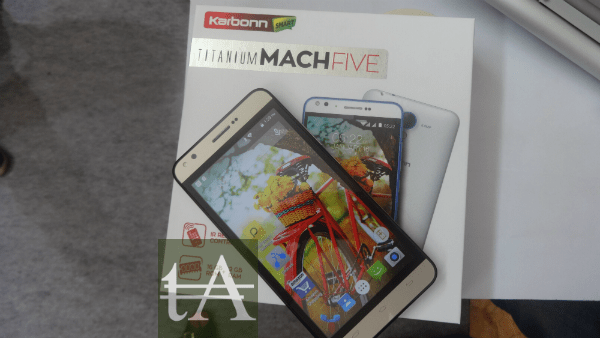Karbonn Titanium Mach Five Box