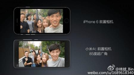 Xiaomi Mi 4c Front Camera
