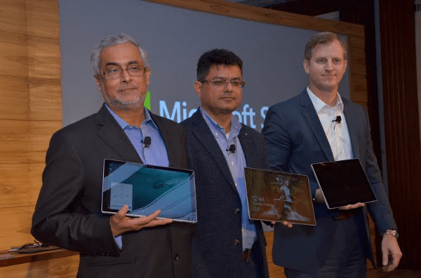Microsoft Surface Pro 4 India Launch