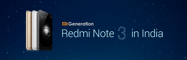 Xiaomi Redmi Note 3 Launch Date