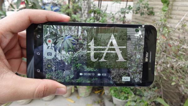 Asus ZenFone Max Camera UI