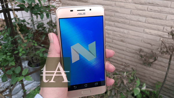 Asus Zenfone 3S Max Nougat