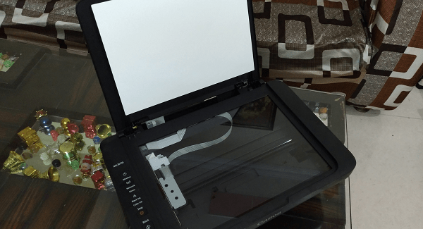 Canon Pixma MG3070S Scanner Bed