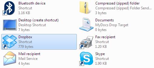 Dropbox_In_SendTo_Folder
