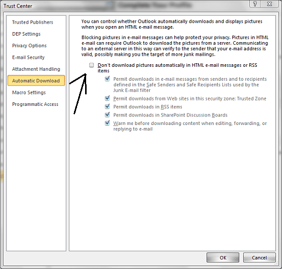 Outlook_Automatic_Download