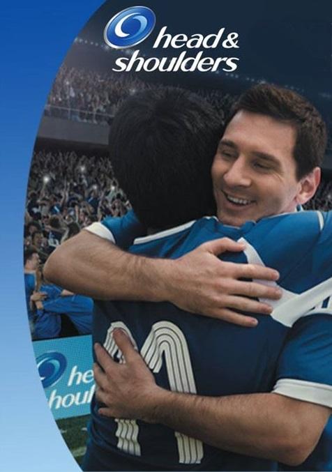 head and shoulders - Leo Messi