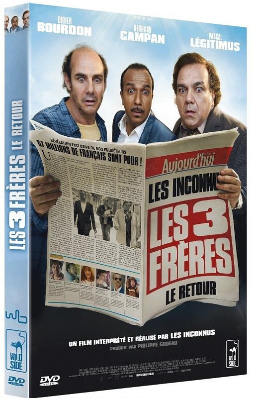 dvd les 3 freres le retour