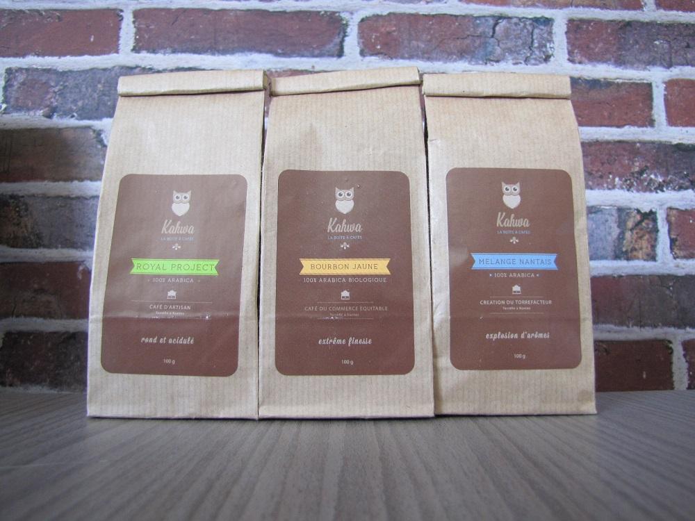 sélection des 3 cafés de juin - Kahwa box