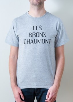 tshirt grey bronx manhattame