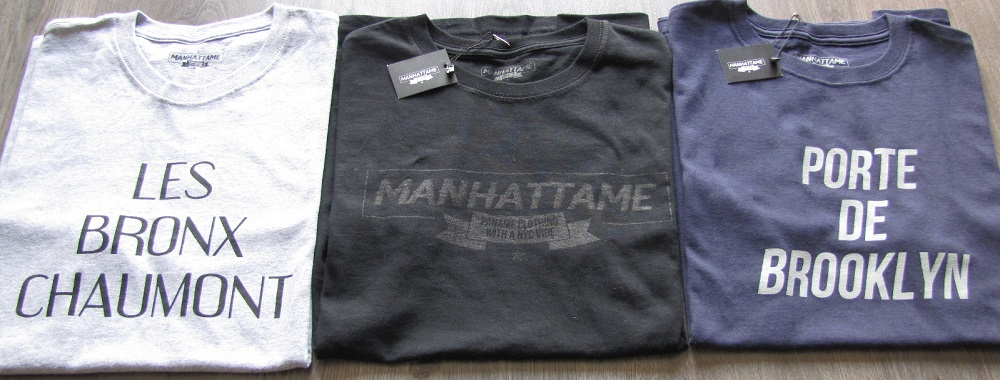 tshirts manhattame