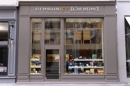 atelier boutique Cresus
