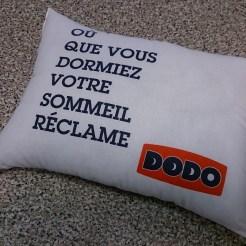 mini oreiller Dodo