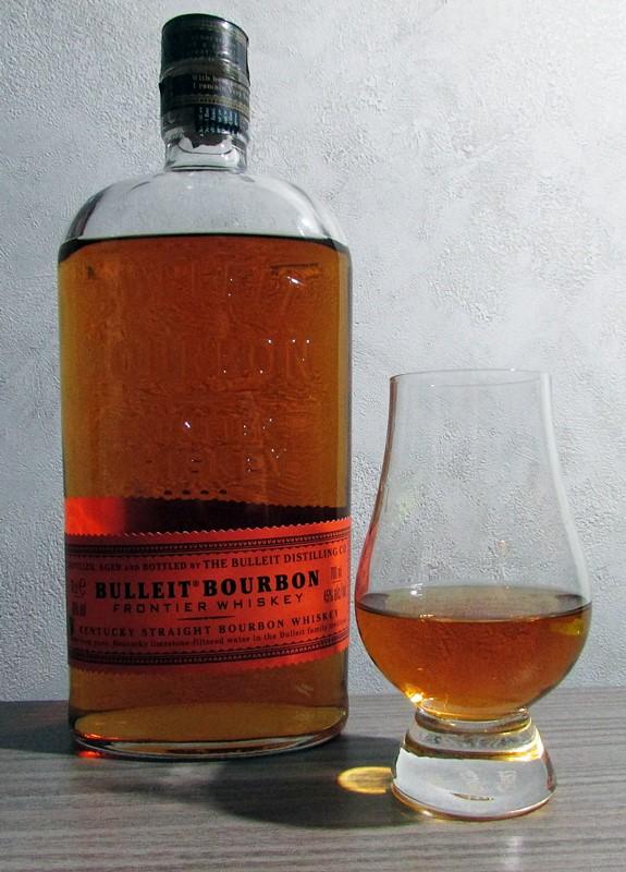 degustation bulleit bourbon