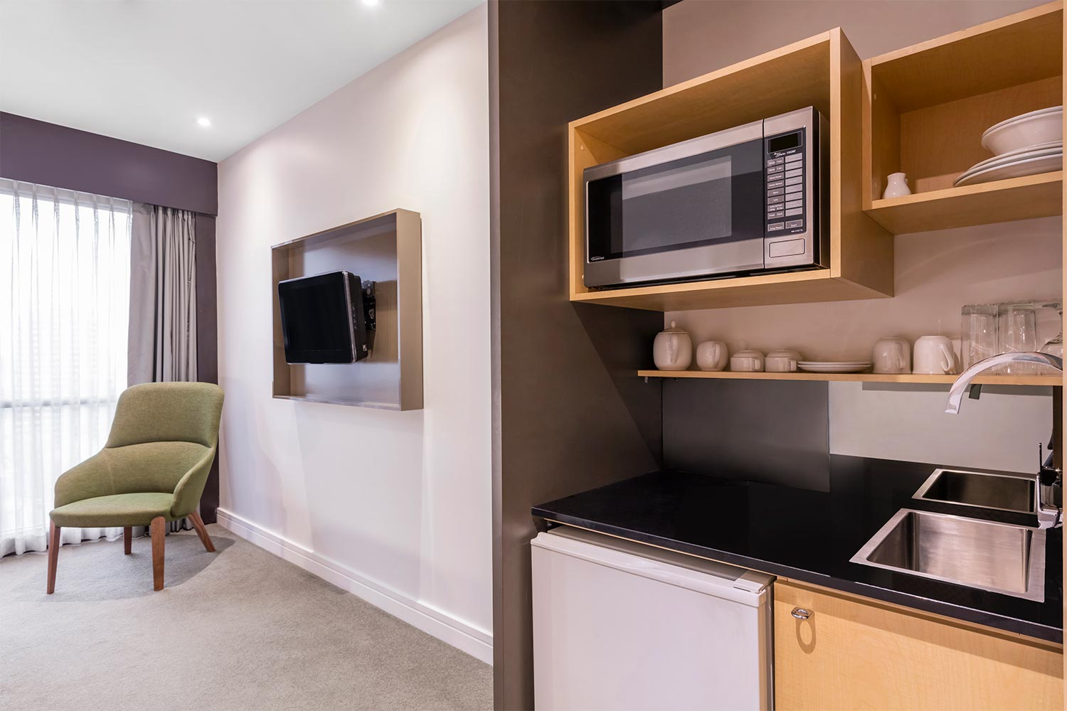 Studio Apartment Melbourne Adina Apartment Hotel Melbourne Best Rate Guaranteed