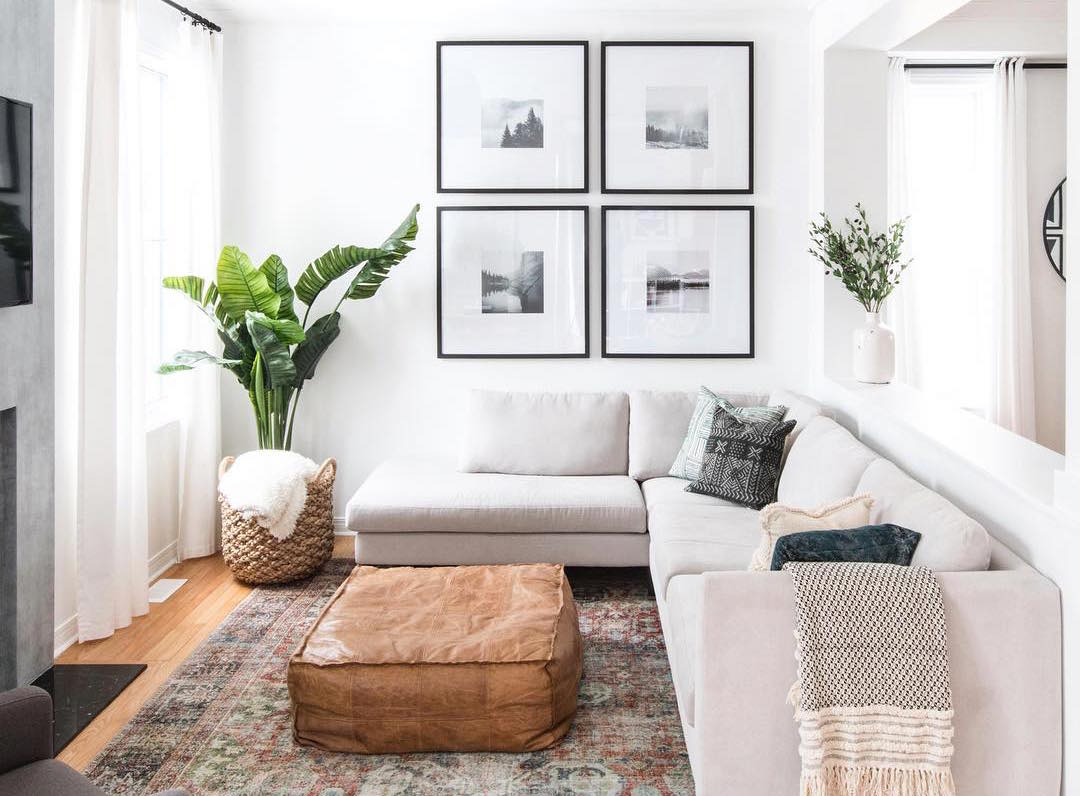 6 Ways To Make Your Small Living Room Feel Bigger The Everygirl